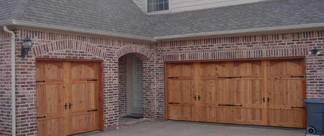 Delightful Custom Insulated Cedar Garage Doors Starting At $1799